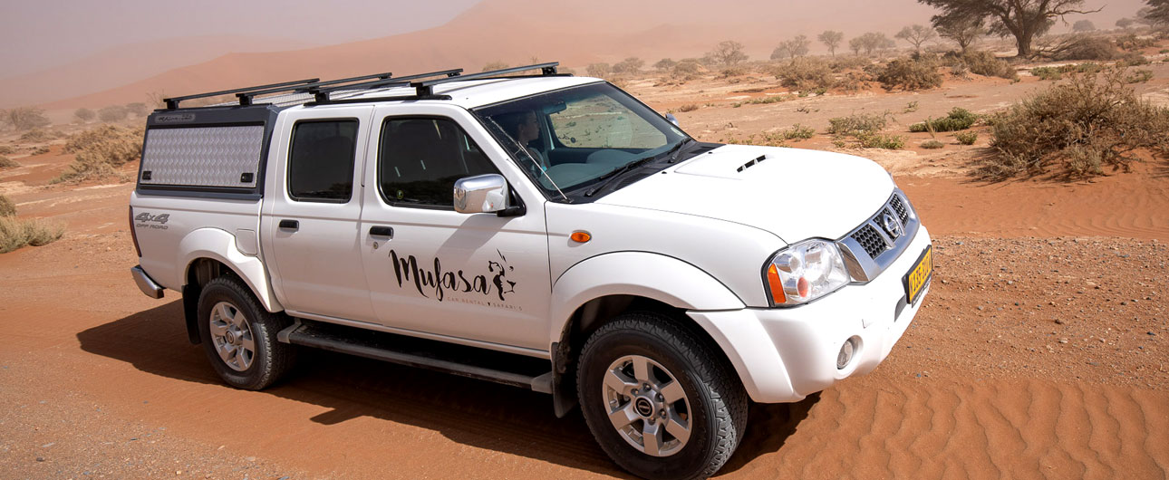Offroad vehicle hire, Windhoek, Namibia